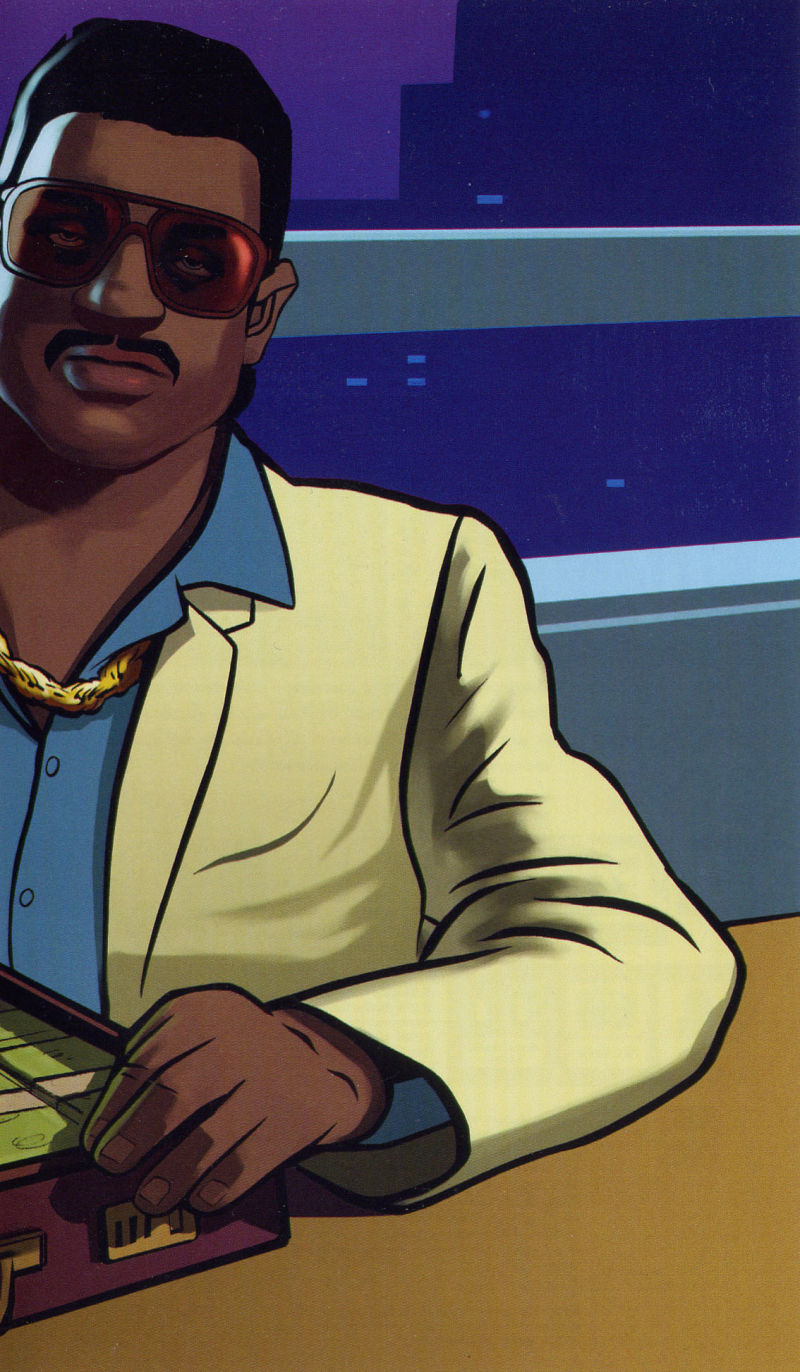 Grand Theft Auto: Vice City Stories PSP Inside Cover Right