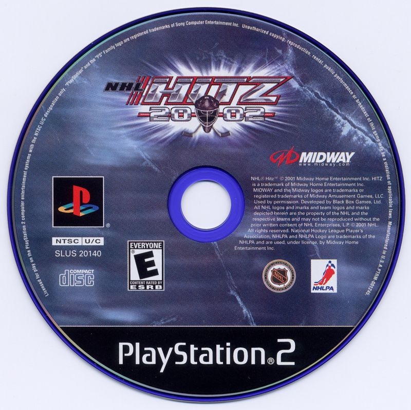 NHL Hitz 20-02 PlayStation 2 Media