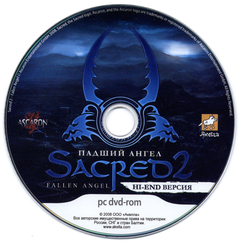 Sacred 2: Fallen Angel Windows Media Elite GFX DVD