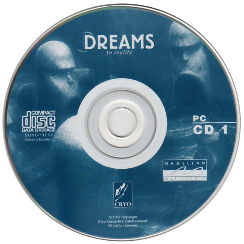 DREAMS to Reality DOS Media Disc 1