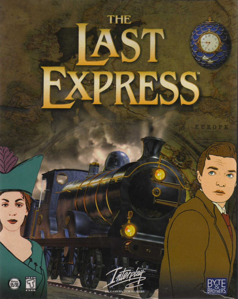 The Last Express Windows Front Cover