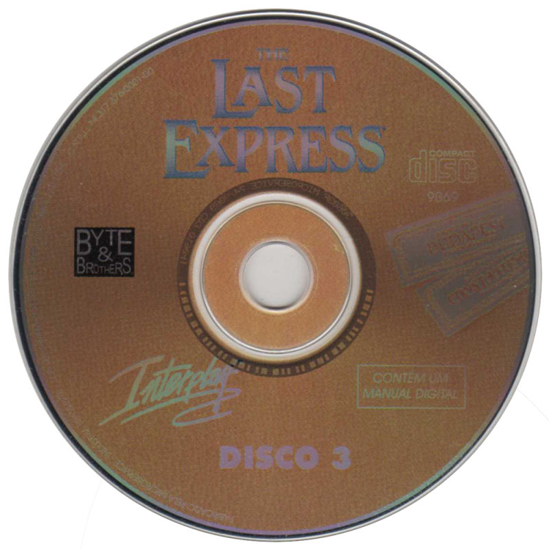 The Last Express Windows Media Disc 3/3