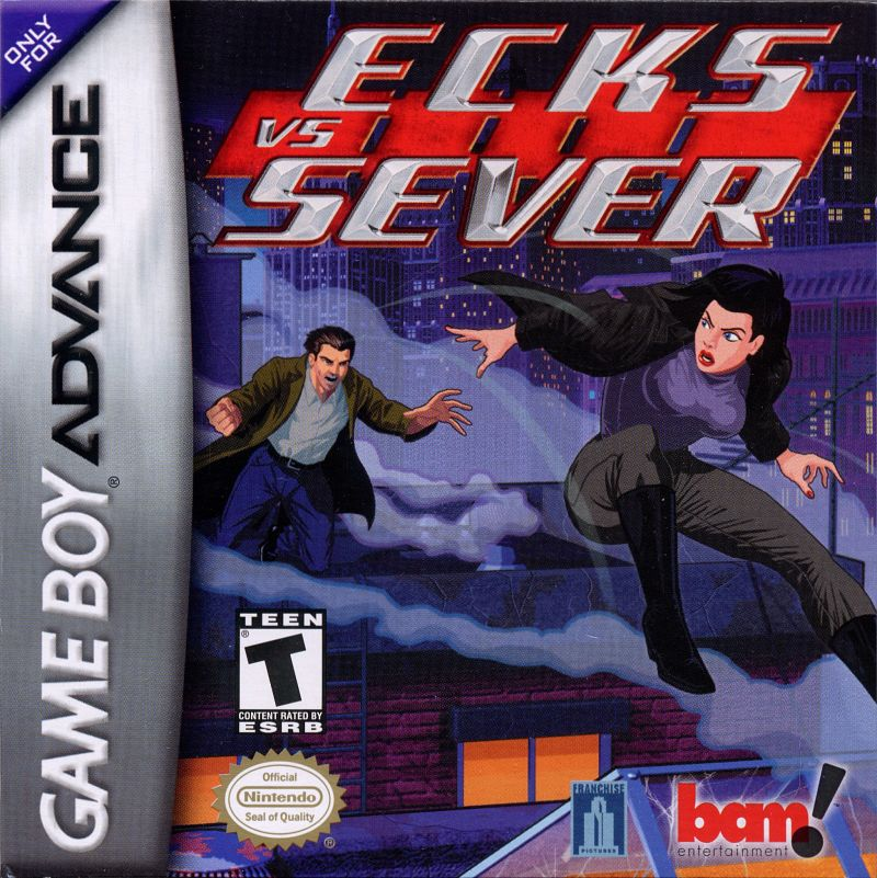 Ecks vs. Sever Game Boy Advance Front Cover