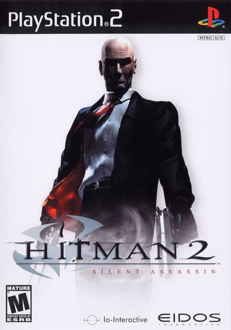 Hitman 2: Silent Assassin PlayStation 2 Front Cover