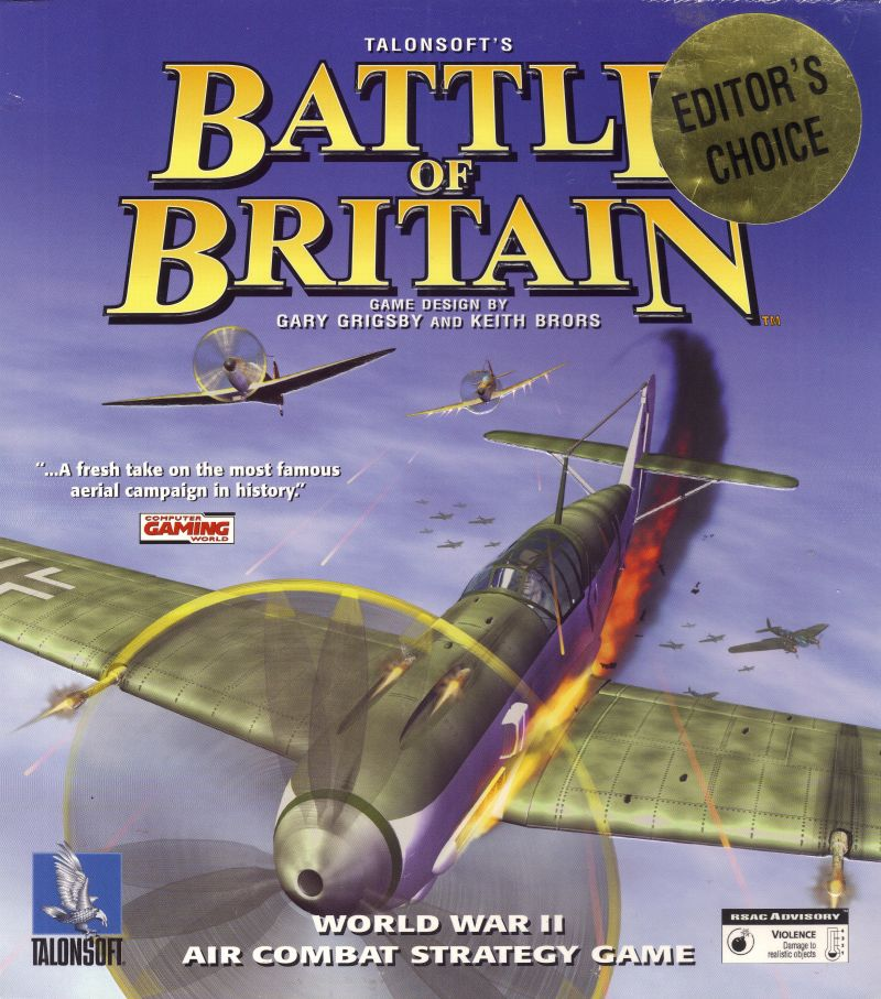 Battle of Britain for Windows (1999) - MobyGames