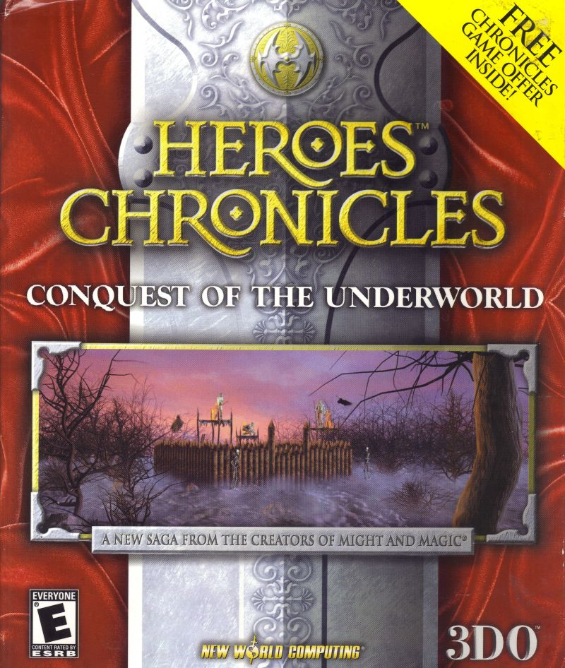 Heroes Chronicles: Conquest of the Underworld Windows Front Cover