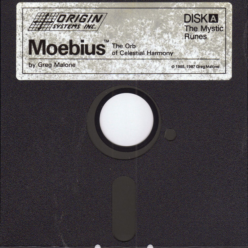 Moebius: The Orb of Celestial Harmony DOS Media Disk A - The Mystic Runes