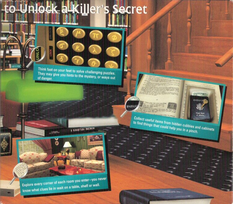 Nancy Drew: Secrets Can Kill Windows Inside Cover Right Flap