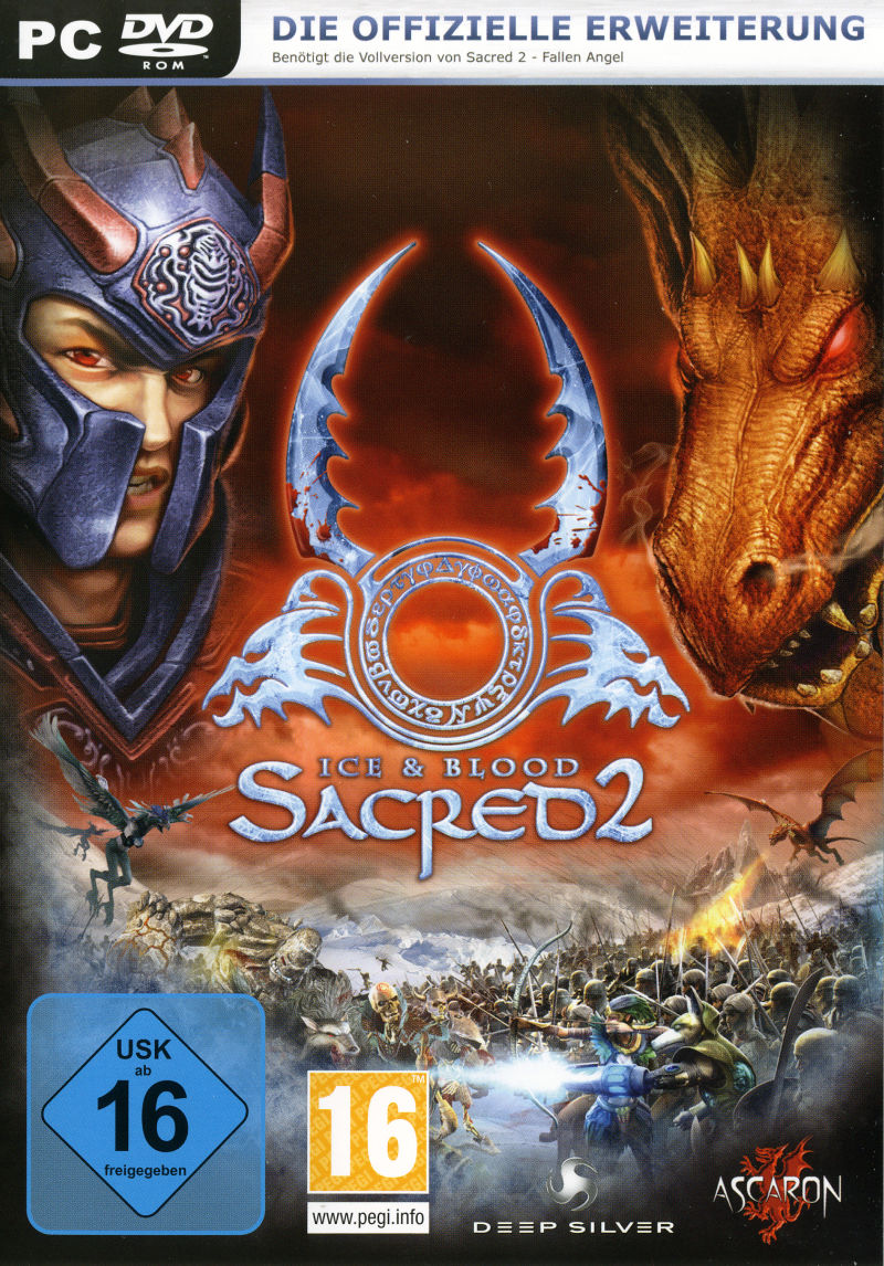 Sacred 2: Ice & Blood Windows Front Cover