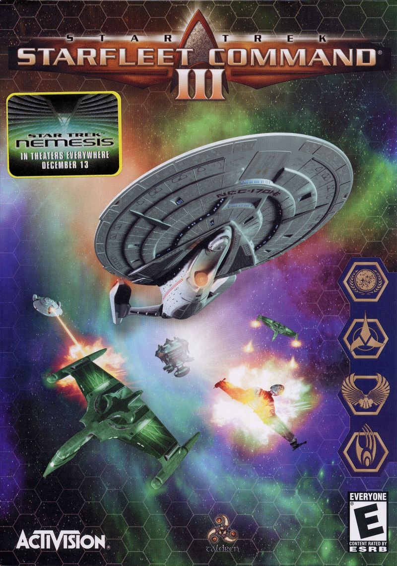 Star Trek: Starfleet Command III Windows Front Cover