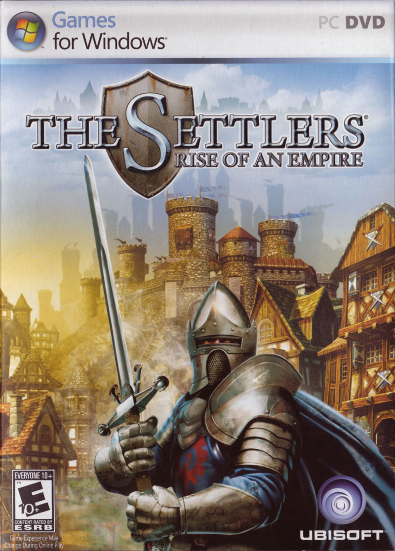 The Settlers: Rise of an Empire Windows Front Cover