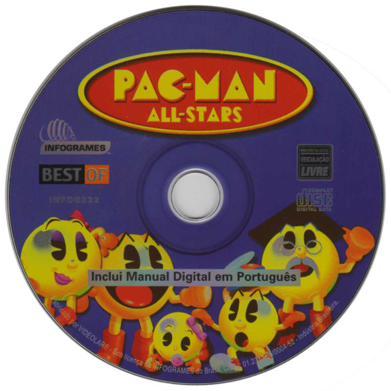 Pac-Man All-Stars Windows Media