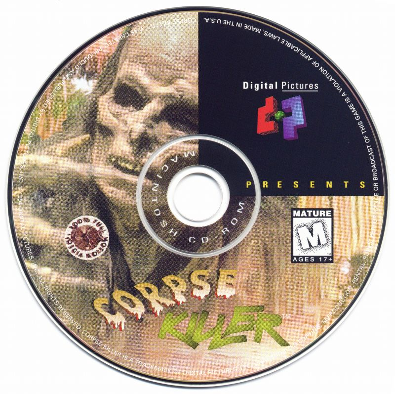 Corpse Killer Macintosh Media