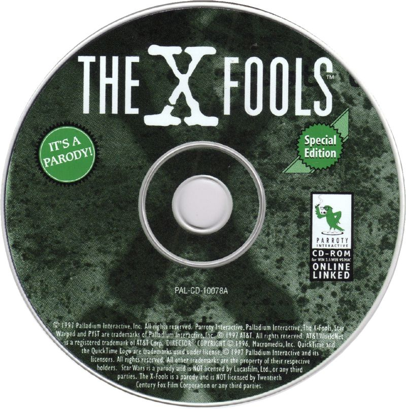 The X-Fools: The Spoof is out There Macintosh Media