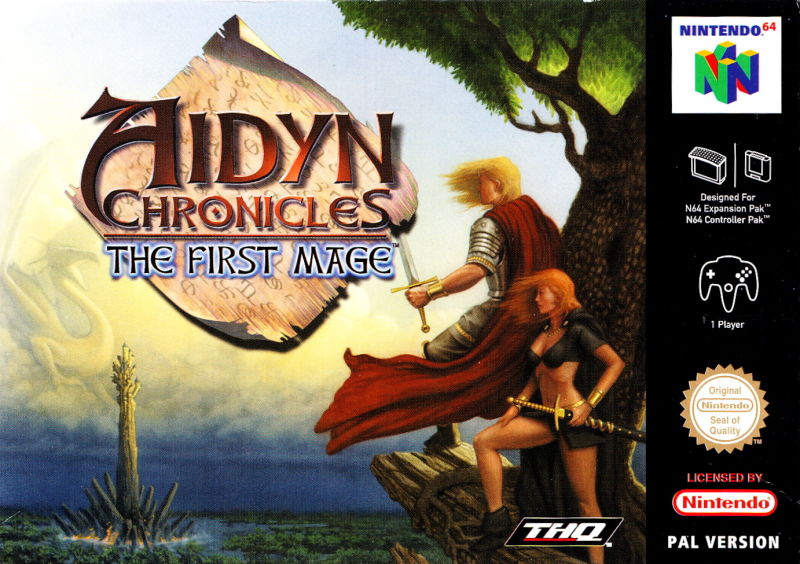 Aidyn Chronicles: The First Mage Nintendo 64 Front Cover