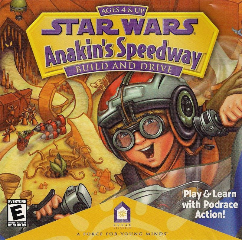 Star Wars: Anakin's Speedway Macintosh Front Cover