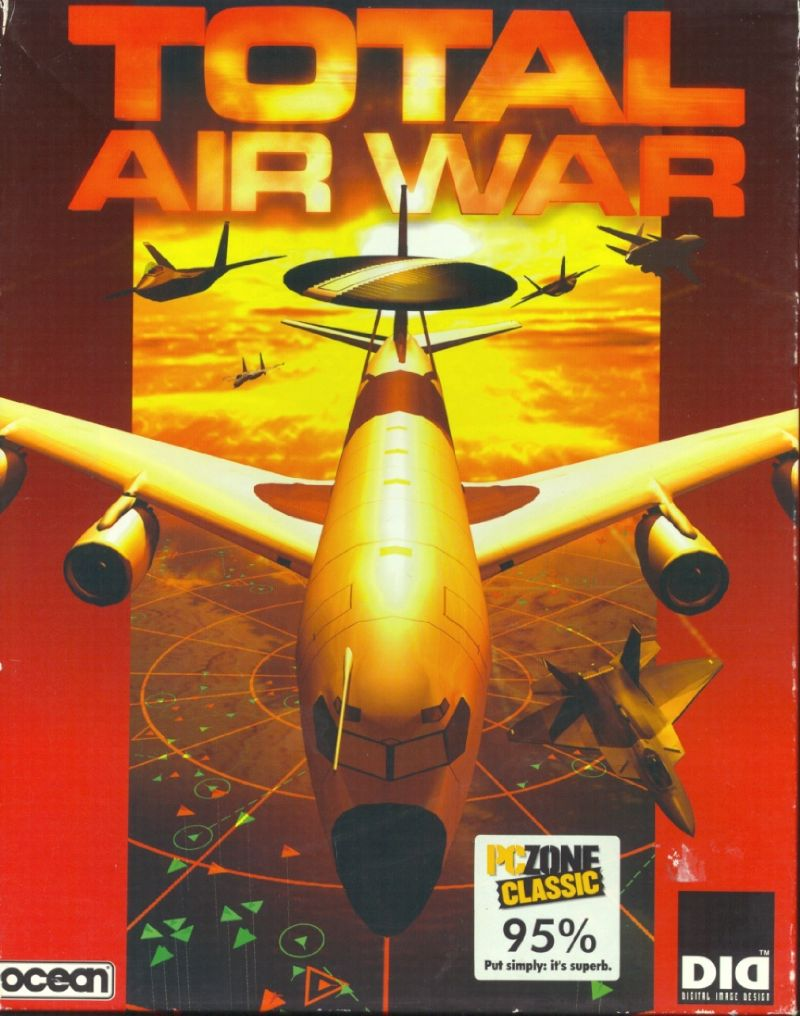 Total Air War Windows Front Cover