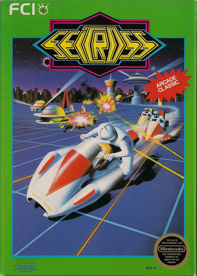 Seicross NES Front Cover
