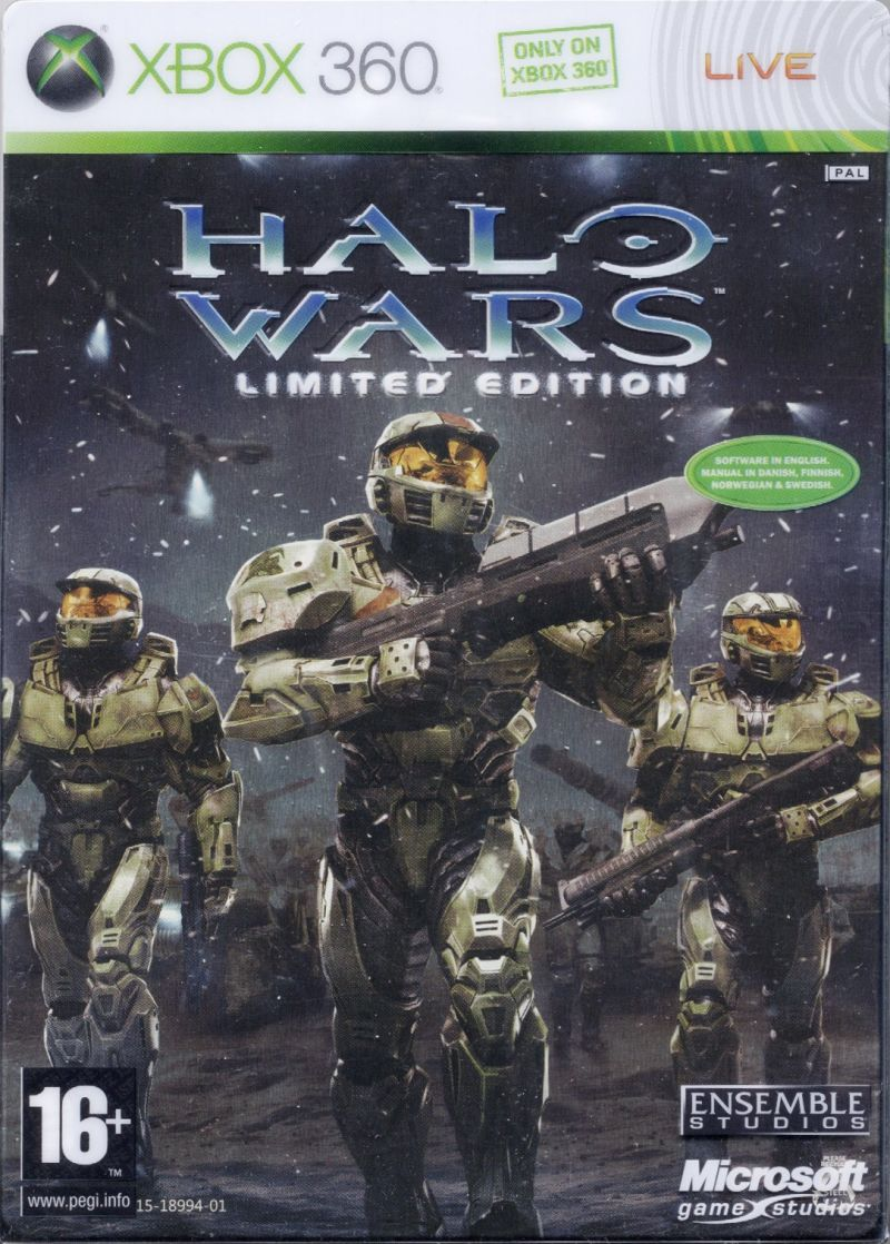 halo wars limited edition 2009 xbox 360 box cover art mobygames rh mobygames com halo wars 2 instruction manual risk halo wars instruction manual pdf