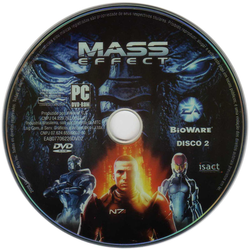 Mass Effect Windows Media Disc 2/2