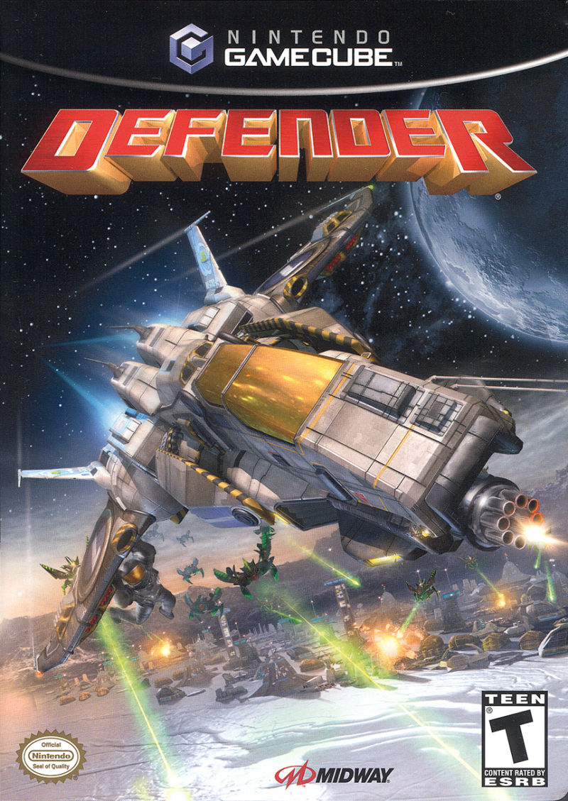 Defender GameCube Front Cover