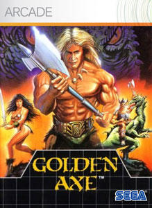 Golden Axe Xbox 360 Front Cover