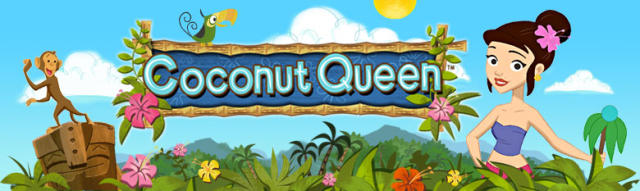 Coconut Queen Windows Front Cover