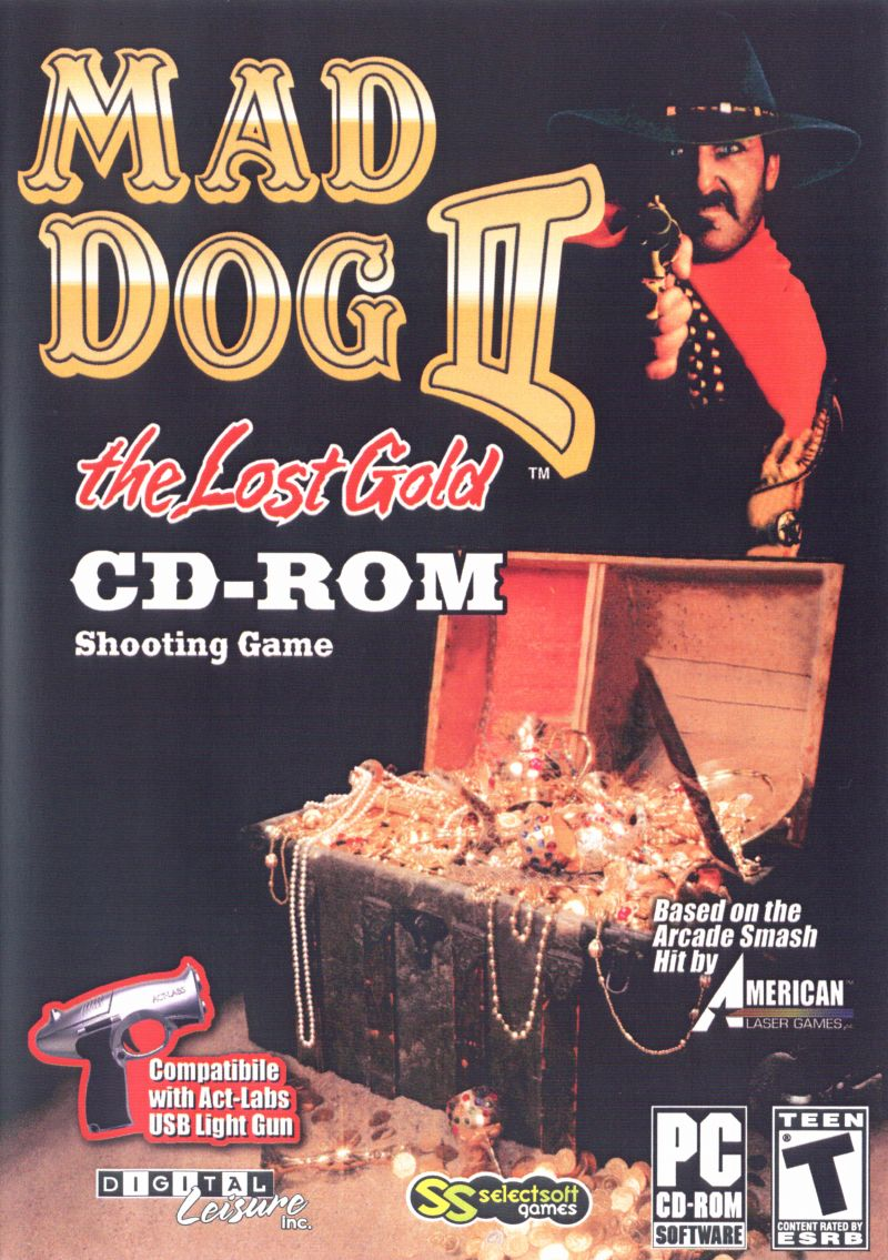Mad Dog II: The Lost Gold Windows Front Cover