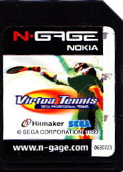 Virtua Tennis N-Gage Media