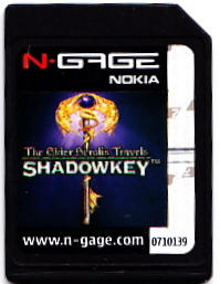 The Elder Scrolls Travels: Shadowkey N-Gage Media