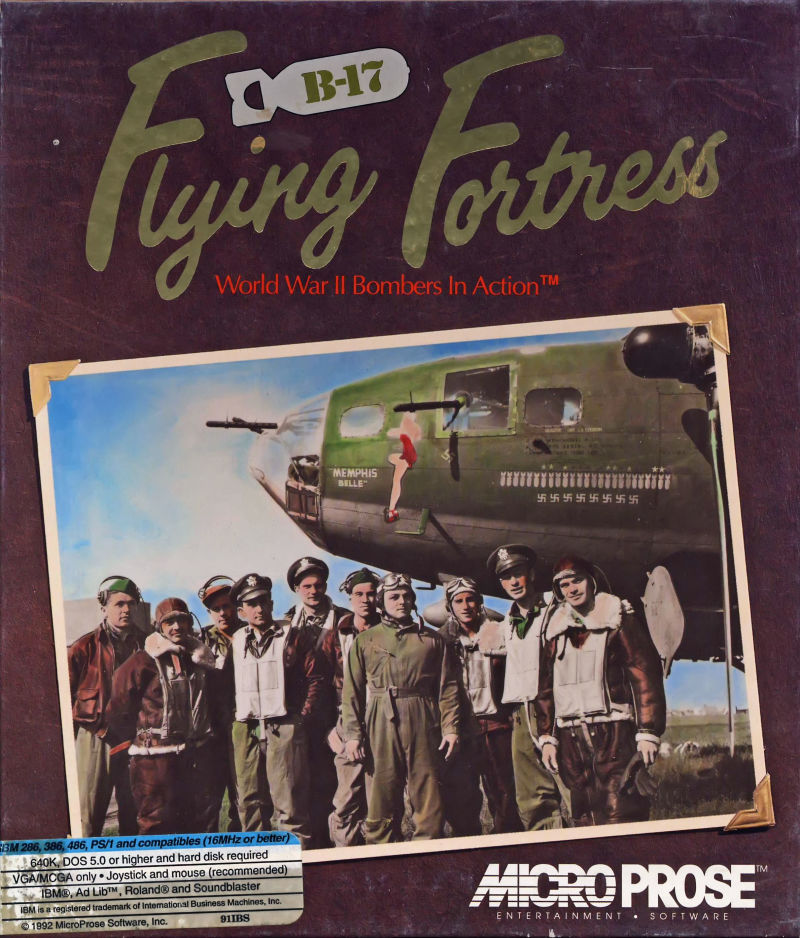 B-17 Flying Fortress for Amiga (1993) - MobyGames