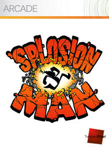 'Splosion Man Xbox 360 Front Cover