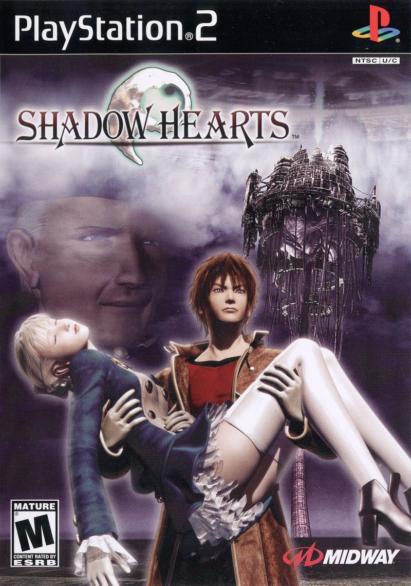 Shadow Hearts PlayStation 2 Front Cover