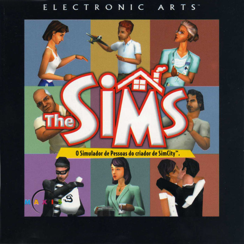 The Sims Windows Other Jewel Case - Front