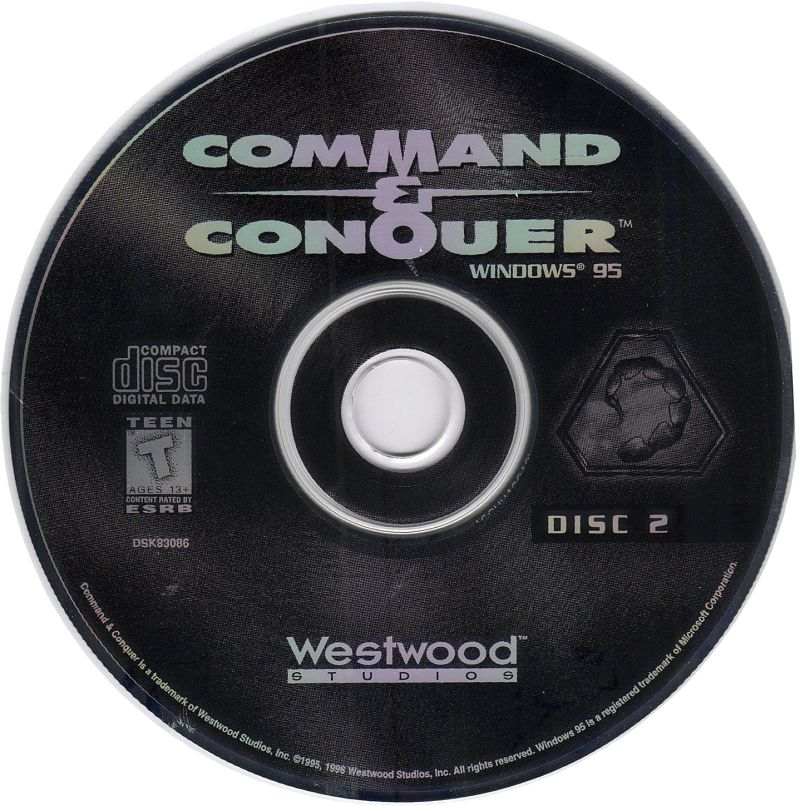 Command & Conquer (Special Gold Edition) Windows Media NOD Disk