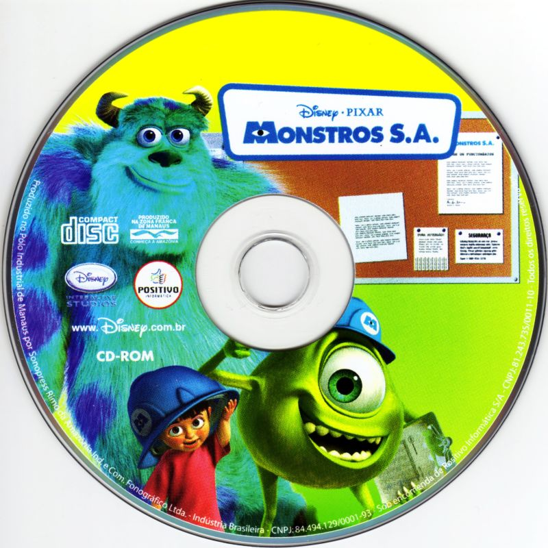 Disney•Pixar Monsters, Inc.: Scream Team Training (2001) Macintosh ...