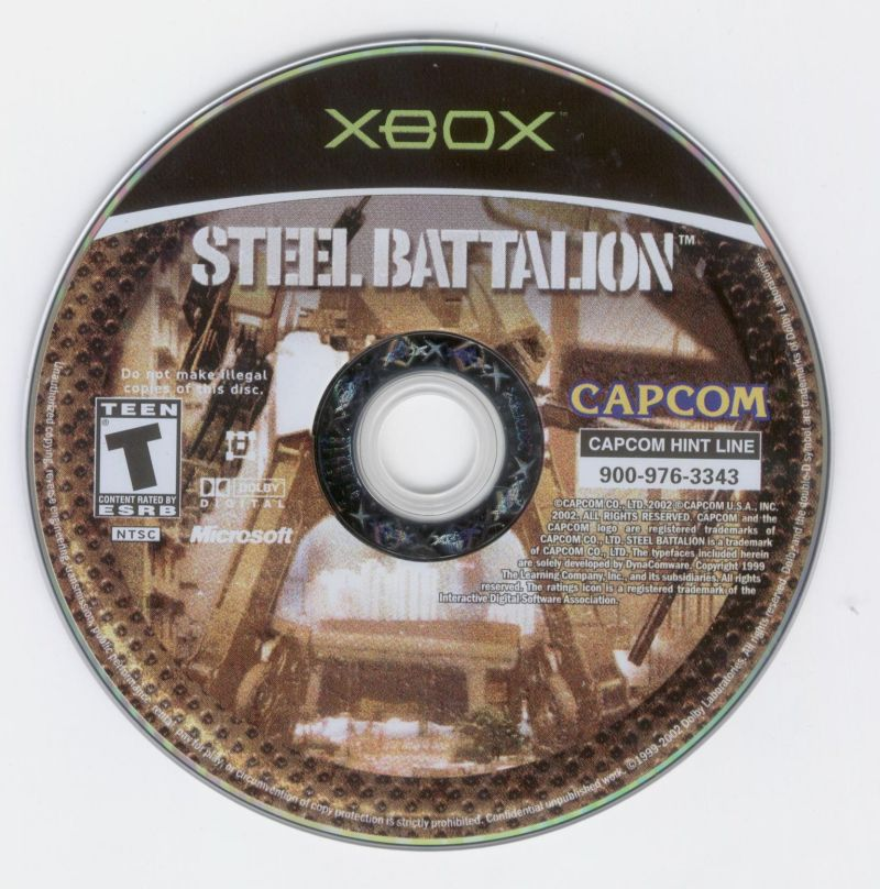Steel Battalion Xbox Media
