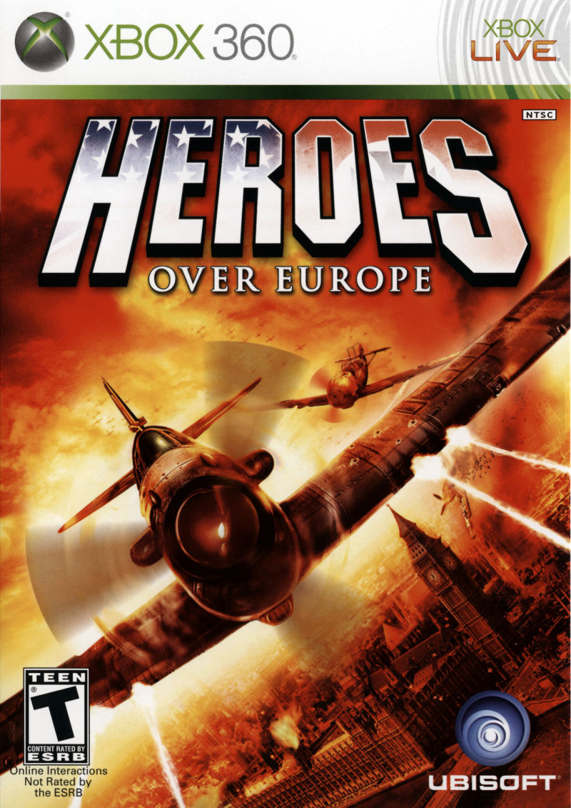 Book Cover Pictures Xbox : Heroes over europe xbox box cover art mobygames
