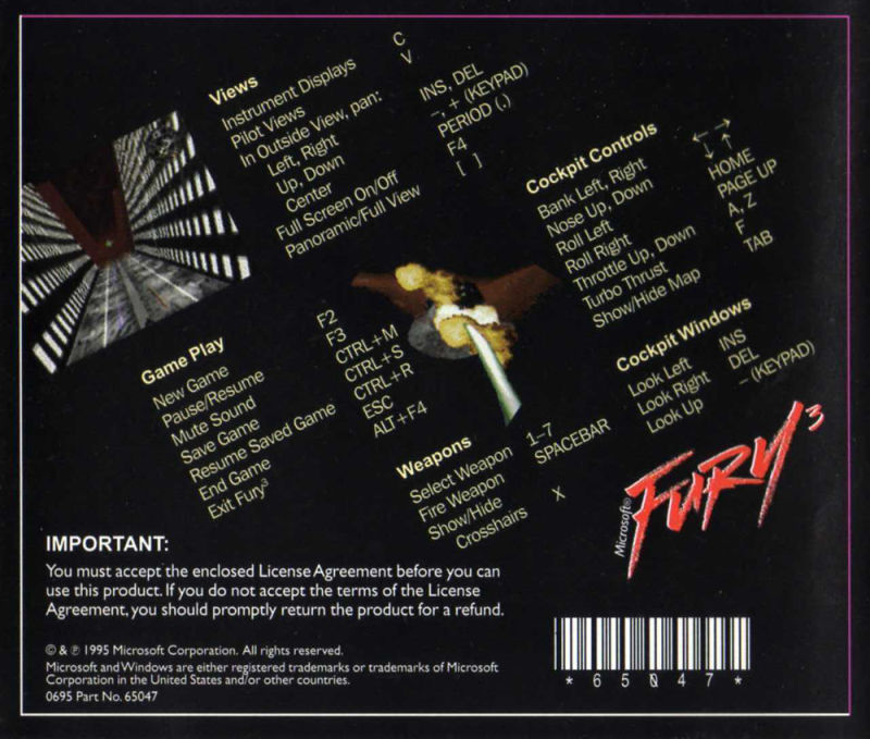 Fury³ Windows Other Jewel Case - Back