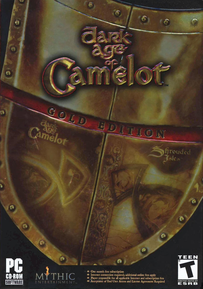 Dark Age of Camelot: Gold Edition Windows Front Cover