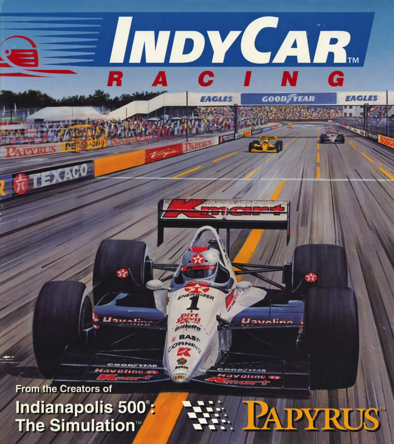 IndyCar Racing for DOS 1993  MobyGames