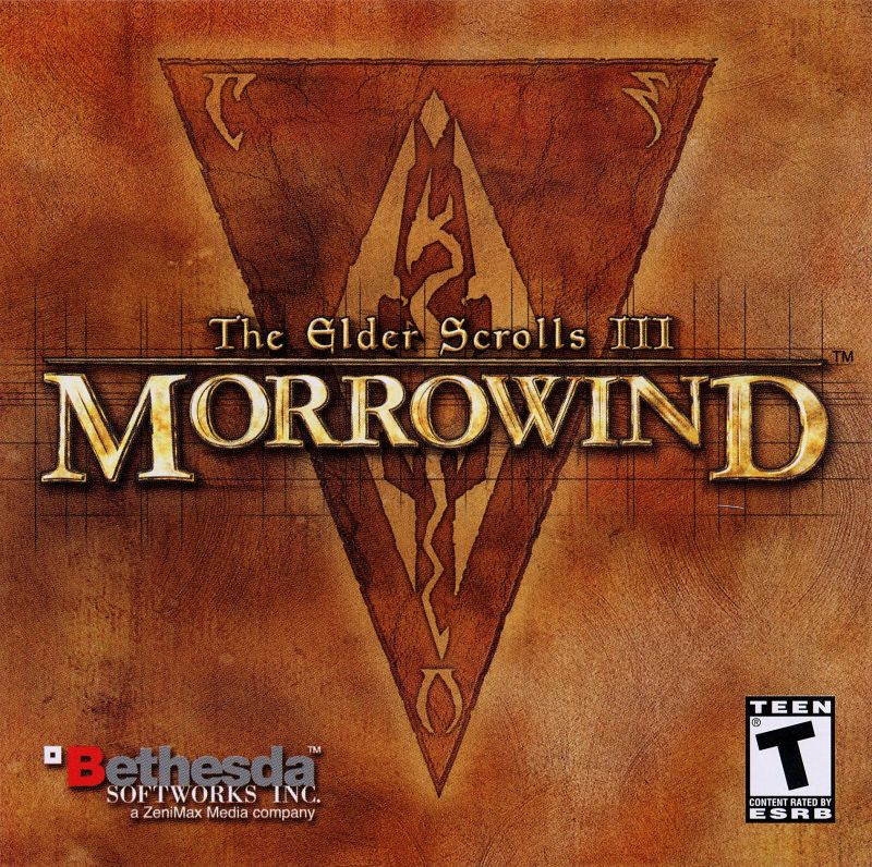 The Elder Scrolls III: Morrowind Windows Other Jewel Case - Front