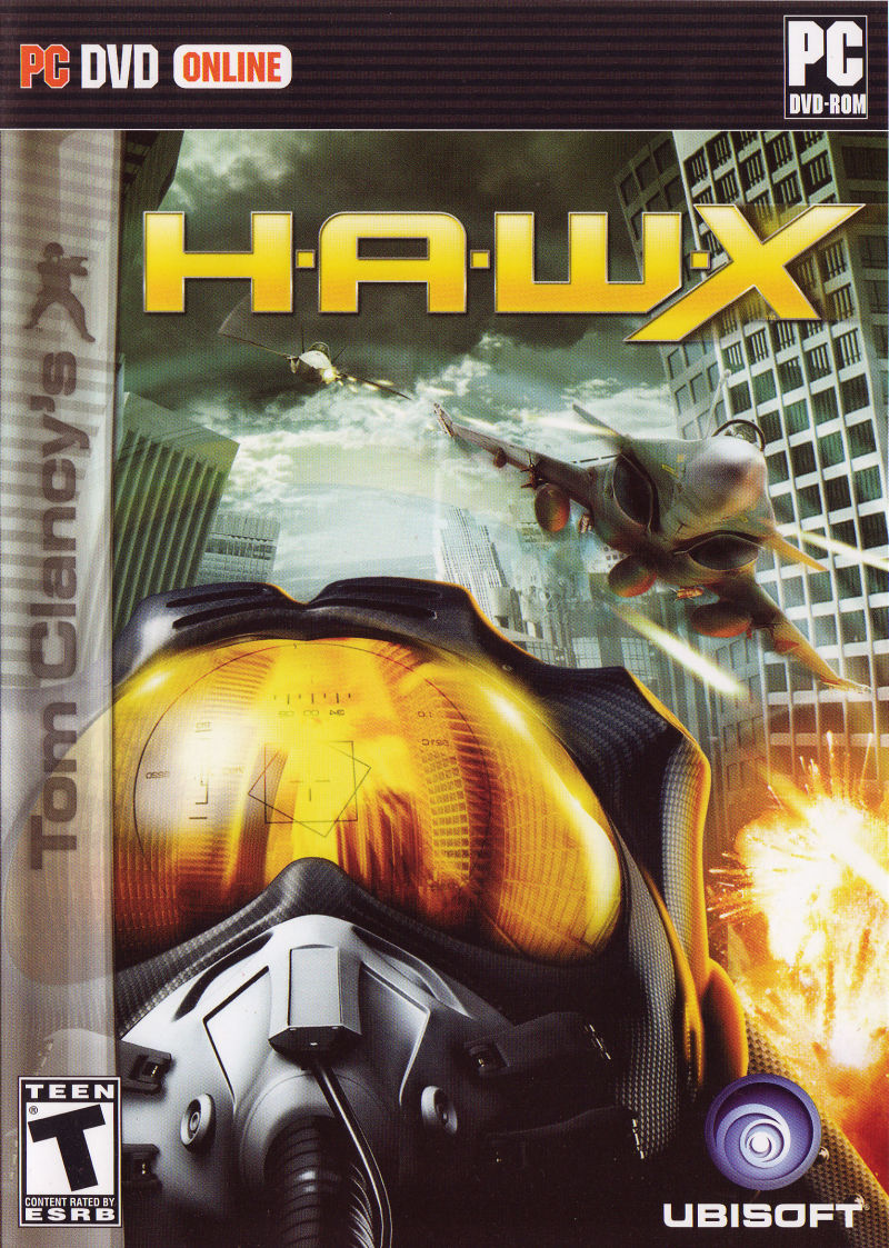 Tom Clancy's H.A.W.X Windows Front Cover