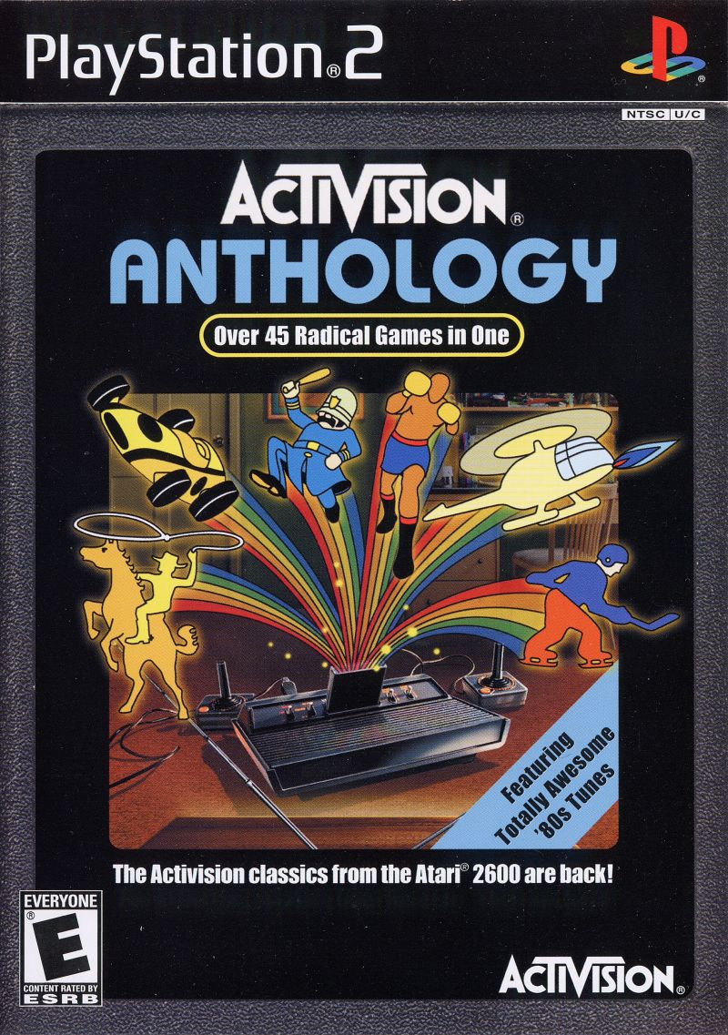 Activision: Anthology PlayStation 2 Front Cover