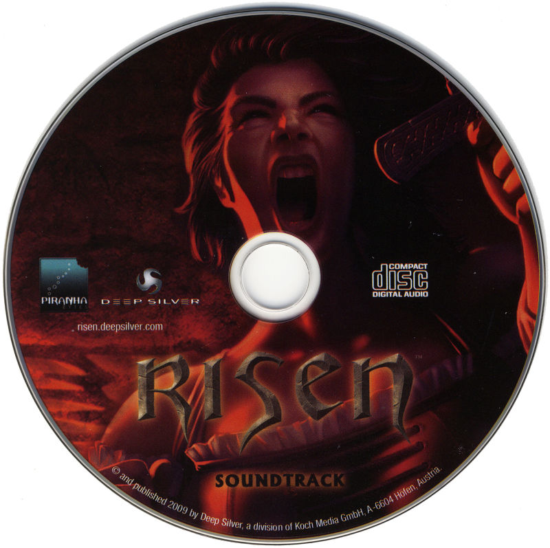 Risen (Collector's Edition) Windows Media Soundtrack CD