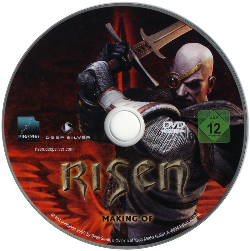 Risen (Collector's Edition) Windows Media Making Of DVD