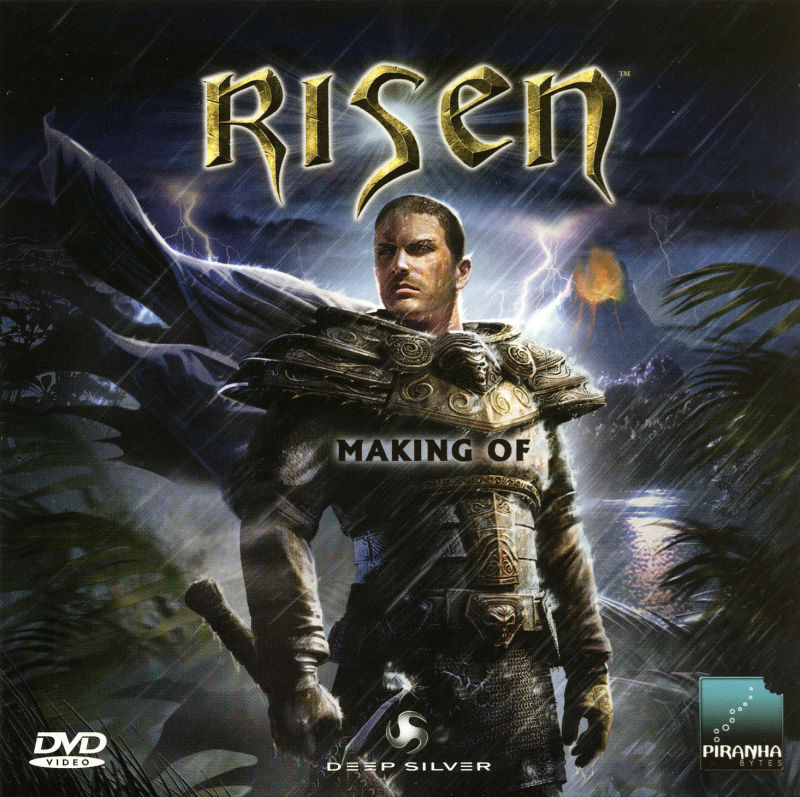 Risen (Collector's Edition) Windows Extras Making Of - Sleeve - Front