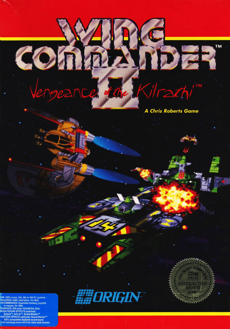 Wing Commander Ii Vengeance Of The Kilrathi For Dos 1991