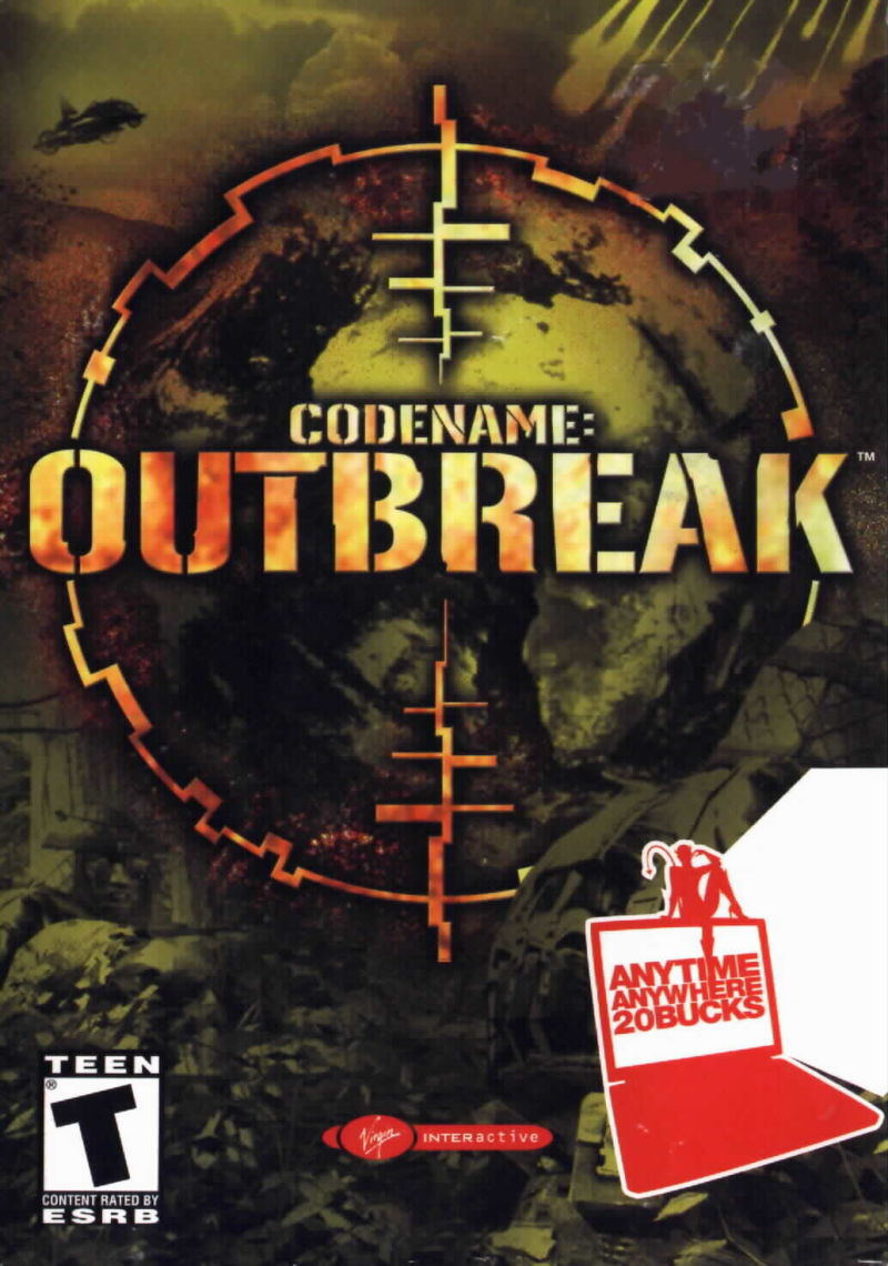 Codename: Outbreak Windows Front Cover