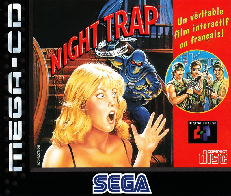 night trap 1992 sega cd box cover art mobygames